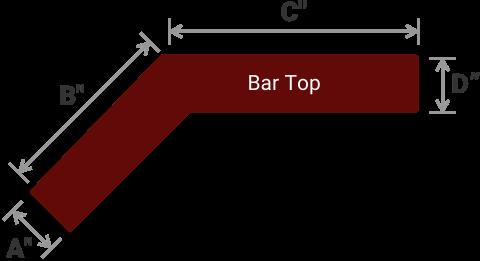 ANGLED BAR TOP