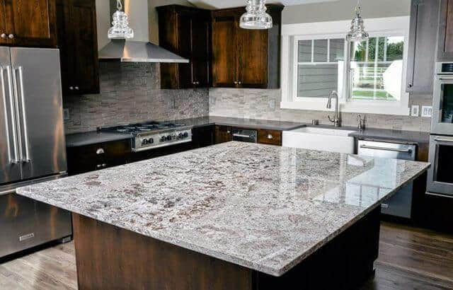 Granite Countertop in Kitchen Orlando