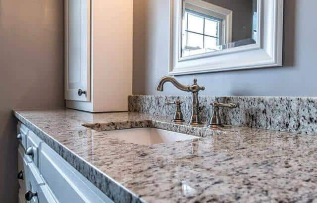 Quartz Countertop in Bathroom Orlando