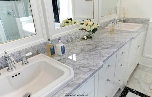 Granite Countertop in Bathroom