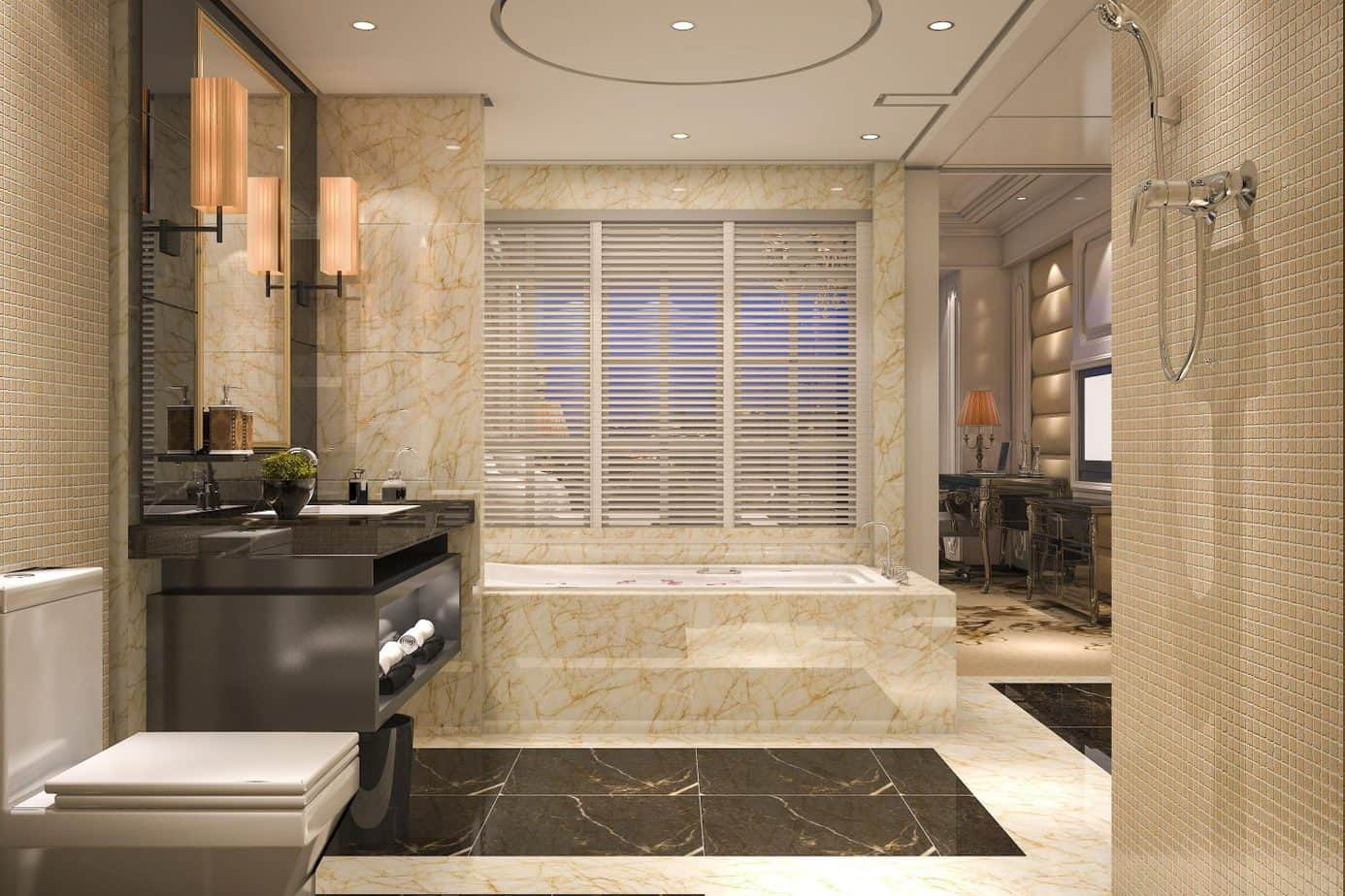 bathroom -countertops_Orlando