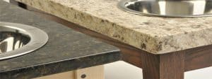 compate thickness of countertops