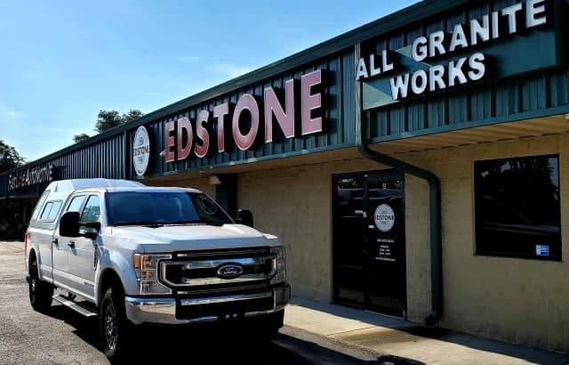 All granite countertop works - office Edstone